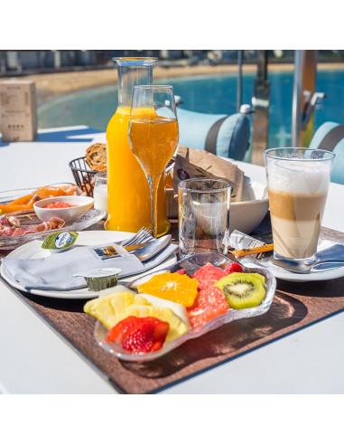 Rooftop Breakfast by Lasala Plaza